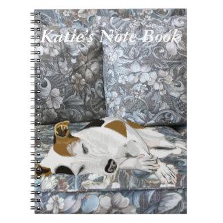 Cadernos Espiral Jack de sono Russell