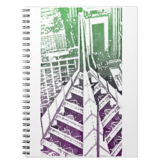Cadernos Espiral Jornal do arranha-céus de Chicago