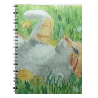 Cadernos Espiral kittie_siesta