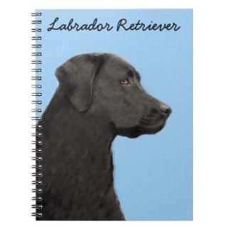 Cadernos Espiral Labrador retriever (preto)