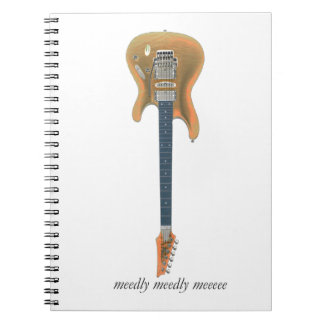 Cadernos Espiral Ligação da guitarra