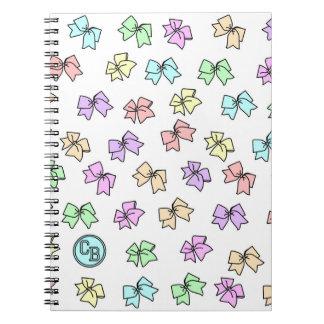 Cadernos Espiral Livro de nota pelo boutique do elogio