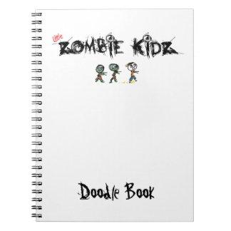 Cadernos Espiral Livro do Doodle do zombi