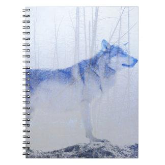 Cadernos Espiral Lobo expor