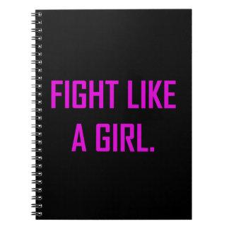 Cadernos Espiral Luta como uma menina