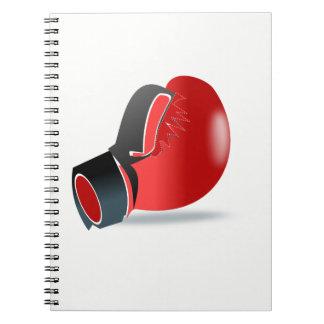 Cadernos Espiral Luva de encaixotamento