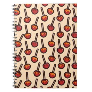 Cadernos Espiral Maçãs caramelizadas