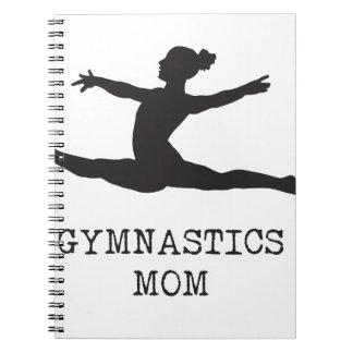 Cadernos Espiral Mamã da ginástica