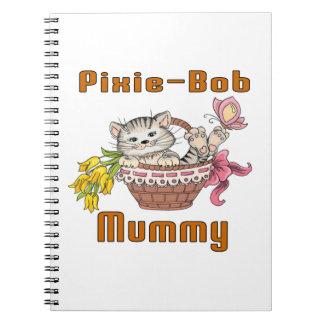 Cadernos Espiral Mamã do gato de Duende-Bob