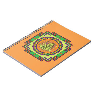 Cadernos Espiral Mandala de Ganesha
