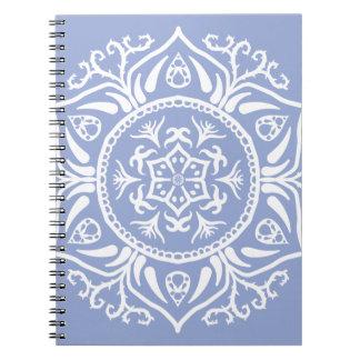 Cadernos Espiral Mandala do mirtilo