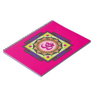 Cadernos Espiral Mandala do OM Shanti OM