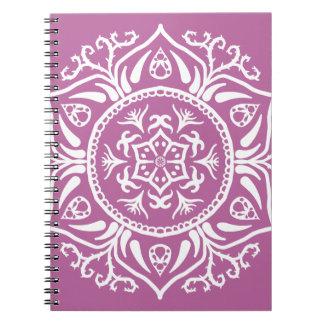 Cadernos Espiral Mandala do trevo