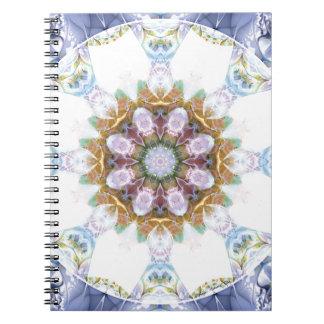 Cadernos Espiral Mandalas do coração da liberdade 14 presentes