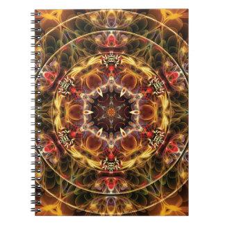 Cadernos Espiral Mandalas do coração da liberdade 17 presentes