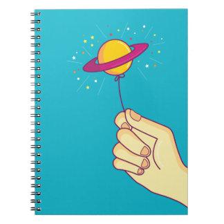 Cadernos Espiral Mantenha suas esperanças acima!