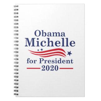 Cadernos Espiral Michelle Obama 2020