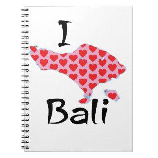 Cadernos Espiral Mim coração Bali