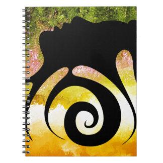 Cadernos Espiral Miranillia - beleza de primavera