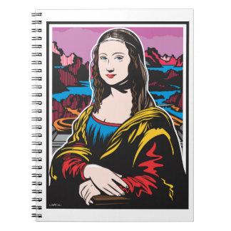 Cadernos Espiral Mona Lisa
