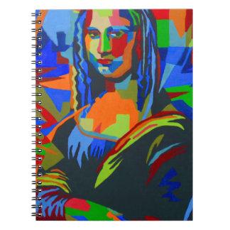 Cadernos Espiral Mona Lisa Wpap
