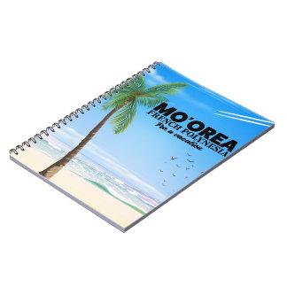 Cadernos Espiral Mo'orea Polinésia francesa