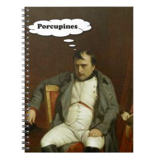 Cadernos Espiral Napoleon pensa sobre porcos-
