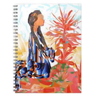 """Cadernos Espiral Nativo americano """"a árvore de doação """""""