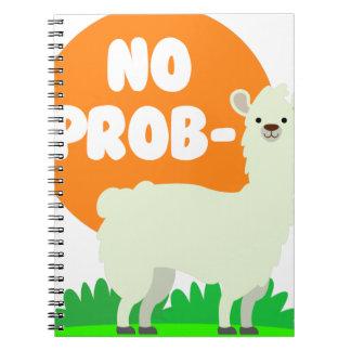Cadernos Espiral Nenhum Prob-Lama - nenhum lama do problema -