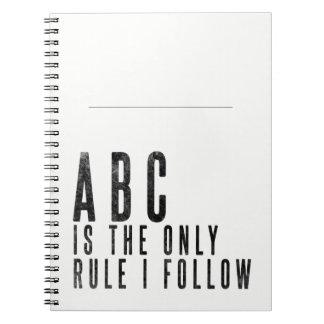 Cadernos Espiral Notas inspiradores do jornal de vendas para o