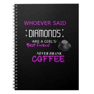 Cadernos Espiral O café é meu jornal da foto de BFF