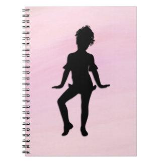 Cadernos Espiral O dançarino pequeno o mais bonito