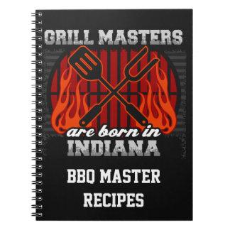 Cadernos Espiral O mestrado da grade é nascido em Indiana