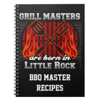 Cadernos Espiral O mestrado da grade é nascido em Little Rock