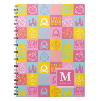 Cadernos Espiral O teste padrão Pastel bonito | adiciona seu nome