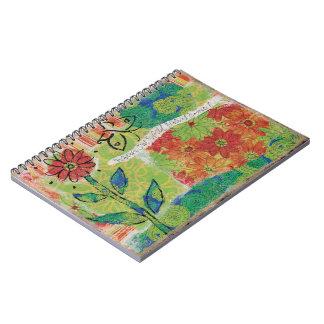 Cadernos Espiral Olhe para fora o jardim do mundo