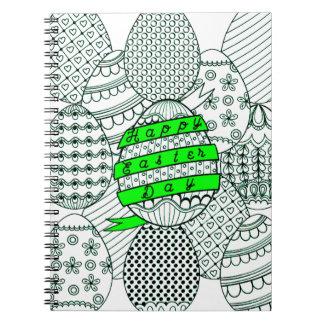 Cadernos Espiral Ovos da páscoa