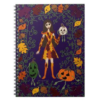 Cadernos Espiral País das fadas do outono