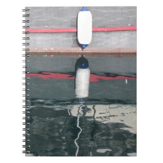 Cadernos Espiral Pára-choques do barco que penduram no conselho