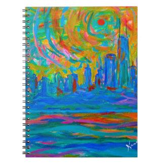 Cadernos Espiral Passeio selvagem de Chicago