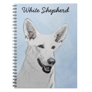 Cadernos Espiral Pastor branco