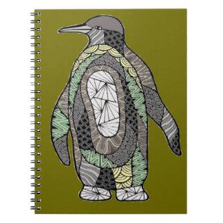 Cadernos Espiral Pinguim