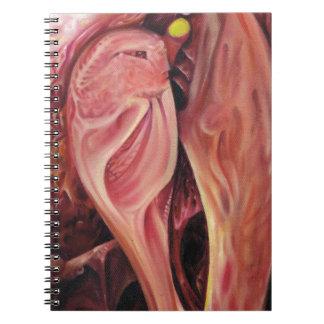 Cadernos Espiral Plasty, um abstrato