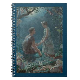 Cadernos Espiral Plenos Verões Hermia e Lysander ideais