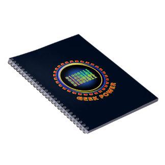 Cadernos Espiral Poder do geek