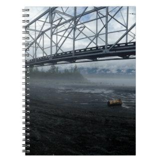 Cadernos Espiral Ponte do rio de Knik