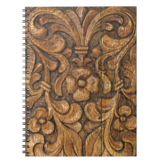 Cadernos Espiral porta patern