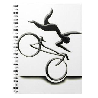 Cadernos Espiral potholing para o agrophobics