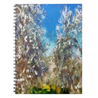 Cadernos Espiral Primavera Blosssom