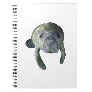 Cadernos Espiral Primaveras do peixe-boi
